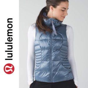 Lululemon Fluffing Awesome Vest in Blue